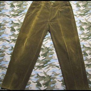 VTG. POLO COUNTRY CORDUROY PANTS! Sz. 34/32